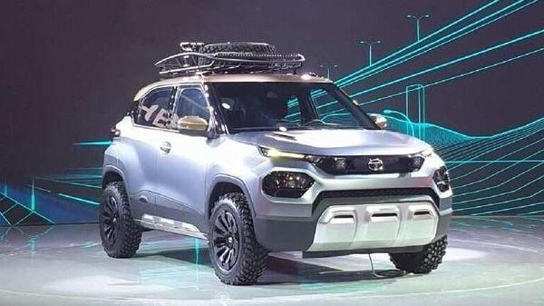 Tata HBX (near-production concept) at Auto Expo 2020