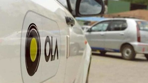 File photo of Ola cab used for representational purpose only.