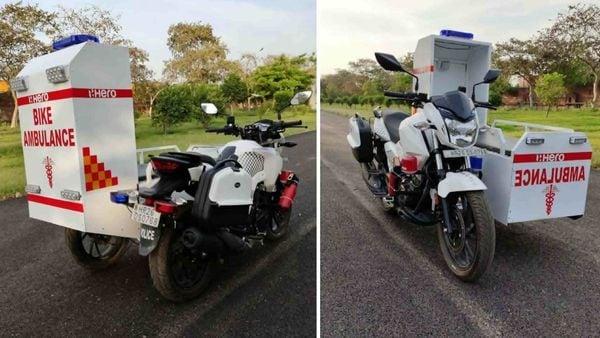 Hero MotoCorp's Xtreme 200R based mobile ambulance