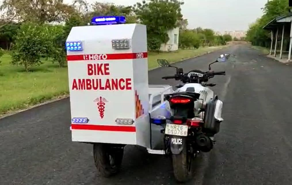 The mini custom-built utilitarian mobile ambulances will be helpful in penetrating rural and remote areas which are otherwise out of reach for regular-sized ambulance vans.
