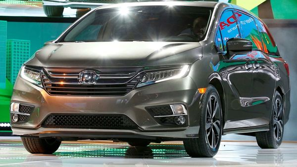 File photo: The 2018 Honda Odyssey minivan (REUTERS)