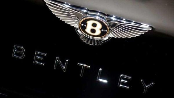 File photo: Bentley logo. (REUTERS)