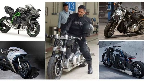 MS Dhoni's bike collection (Representational Image)