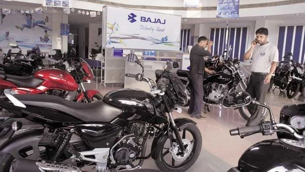 Total vehicle exports in October were at 1,84,432 units as compared to 1,86,757 units in the same month a year ago, down 1 per cent, Bajaj Auto said.