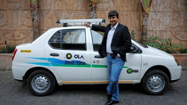 File Photo: Bhavish Aggarwal, CEO and co-founder of Ola. (REUTERS)