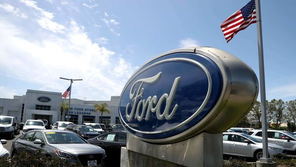 Ford had to put up additional guarantees for earlier loans because it has not maintained an investment-grade status. (AFP)