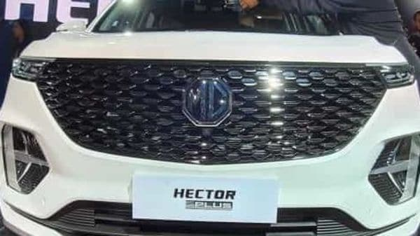 File photo: Hector Plus SUV from MG Motor.
