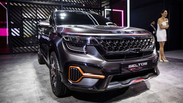 A photo of Kia's Seltos X-Line Urban Concept vehicle at Auto Expo 2020 used here for representational purpose. (Bloomberg)