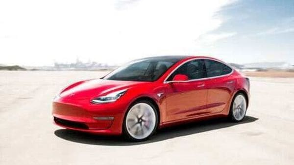 China has cut subsidies on new energy vehicles (NEV) by 10% this year. (File photo of Tesla Model 3) (AP)