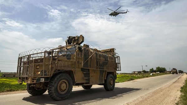 This is a photo of a Turkish military MRAP (Mine-Resistant Ambush Protected) vehicle and has been used here only for representational purposes. (AFP)