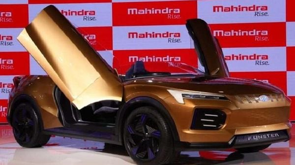 Mahindra Funster concept was displayed at Auto Expo 2020.