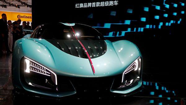 File photo: Supercar Hongqi S9. (REUTERS)