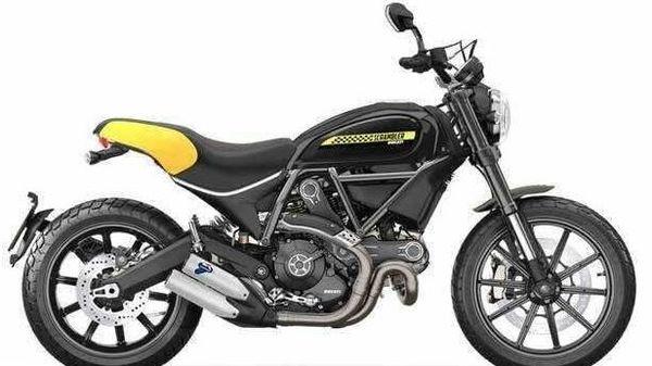 A picture of Ducati Scrambler Full Throttle.