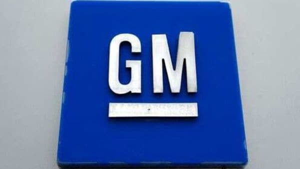 File photo shows a General Motors logo at the General Motors Detroit-Hamtramck Assembly plant in Hamtramck, Mich. (AP)