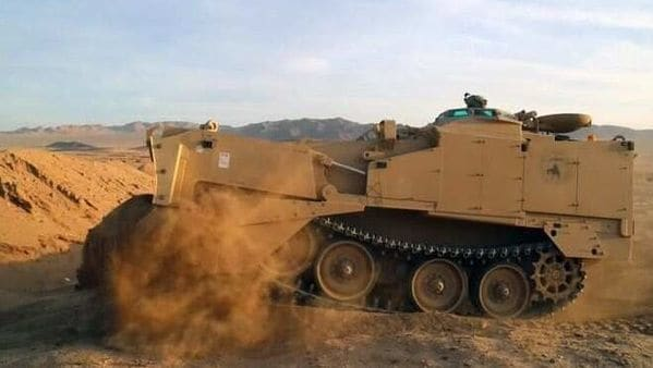 Its compact dimensions allow the M9 ACE to be easily transported by air. Its 300-kilometer range and top speed of about 50 kmph makes it a solid proposition during engineering as well as offensive missions.