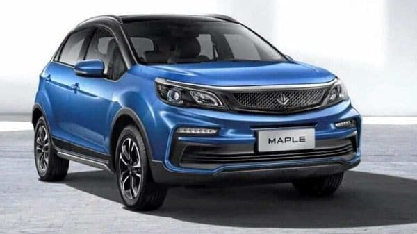 The design of the Maple 30X will remind one of Tata Nexon. (Photo courtesy: Maple)