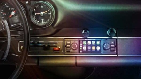 Porsche 911 among the classic cars to get brands new retrofit infotainment system.