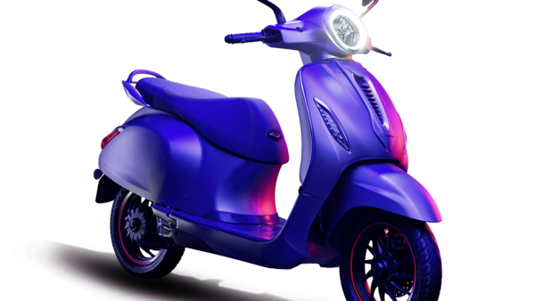 A picture of Chetak Electirc scooter from Bajaj Auto.