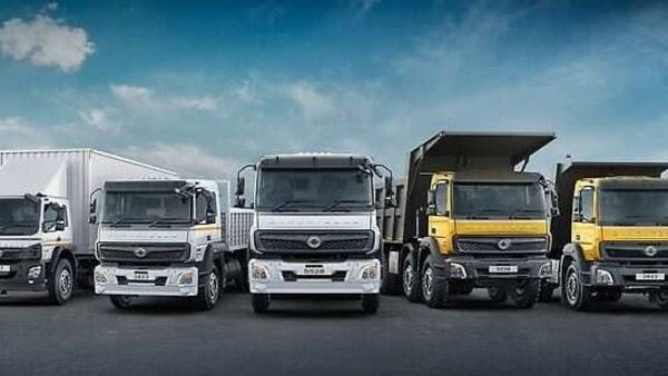 Daimler began production of heavy-duty trucks in India since 2012.