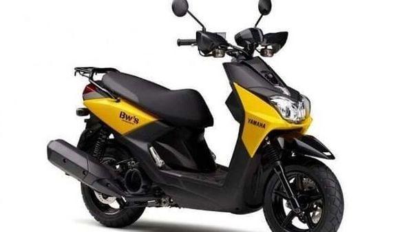 The new Yamaha BW'S 125.
