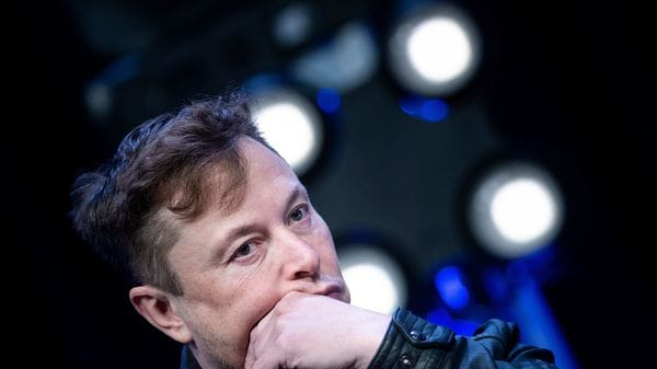 Elon Musk posted more than 12 tweets in about 75 minutes. Some say he is frustrated and takes to Twitter ranting when under pressure. (AFP)