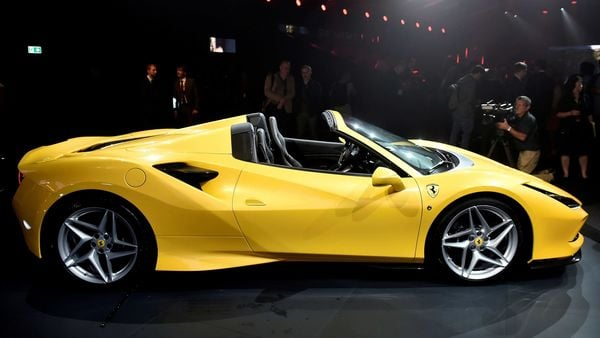 Luxury sports car maker Ferrari still expects to make more than $1 billion in core profit this year. (REUTERS)