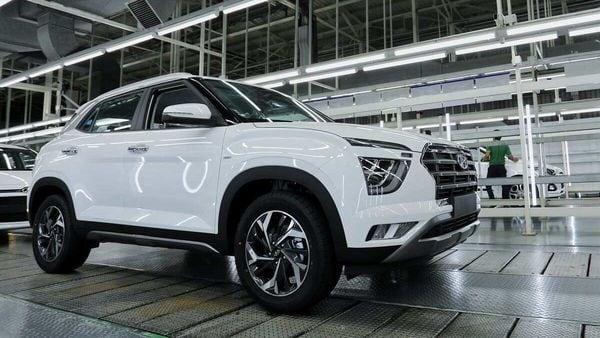 2020 Hyundai Creta at one of the Hyundai facilities. (File photo)