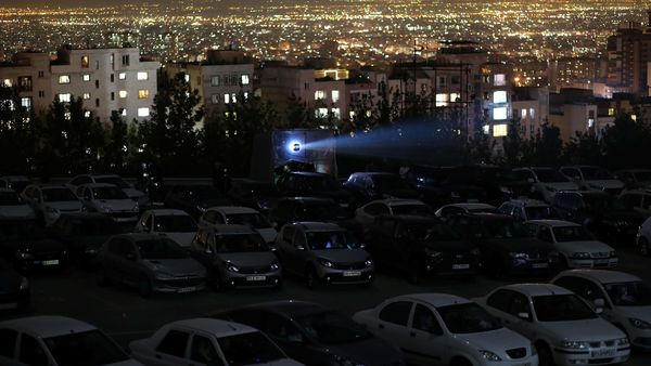 The new coronavirus pandemic has brought back something unseen in Iran since its 1979 Islamic Revolution: a drive-in movie theater. (All text courtesy: AP)