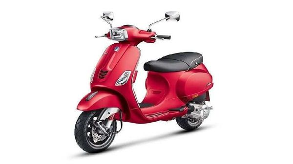Vespa SXL 149 BS 6 scooter pictured.