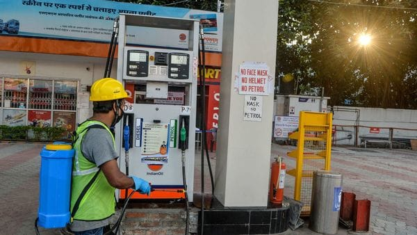 The state government has imposed the additional tax on petrol by ₹2 per litre, and ₹1 per litre for diesel in the time of crisis. (AFP)