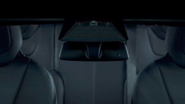 Three main camera units assisting autopilot mode inside a Tesla. (Photo courtesy: Tesla)