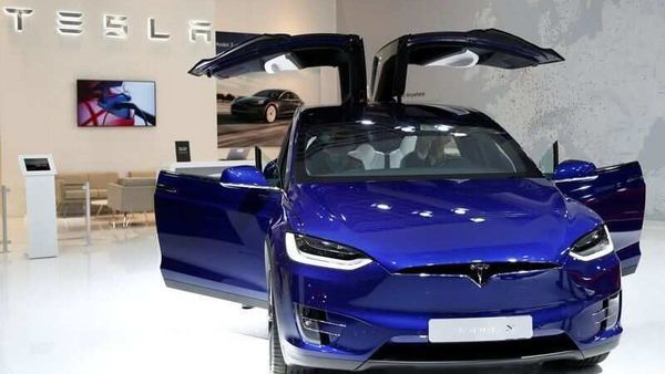 FILE PHOTO: A Tesla Model X electric car is seen at Brussels Motor Show, Belgium, January 9, 2020. (REUTERS)
