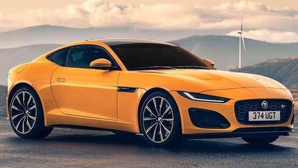 Jaguar F-Type facelift pictured.
