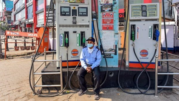 Following the record hike in excise duty on petrol and diesel, the total incidence of taxation on auto fuels jumped to 70 per cent of the retail price. (File photo used for representational purpose only). (PTI)