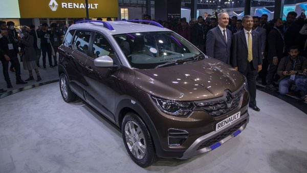 File photo of Renault Triber. (Bloomberg)