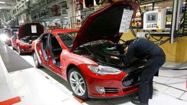 Tesla's factory in Fremont California has not been able to resume work due to restrictions arising from Covid-19. This has prompted Elon Musk to take on authorities aggressively. (File photo) (AP)
