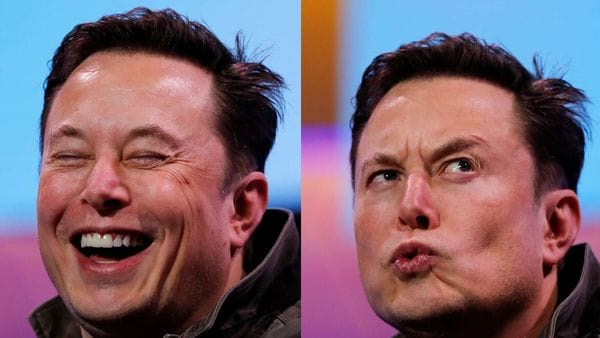 The many moods of Musk: File photo of Elon Musk, CEO of Tesla, who has decided to reopen the company's facility in Fremont, California. (REUTERS)