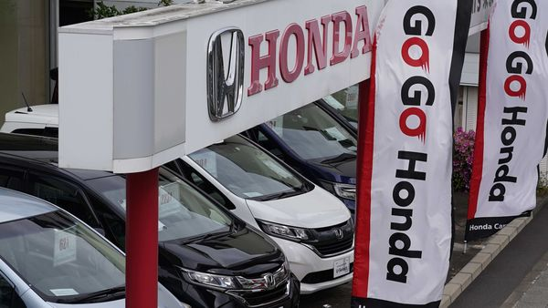 File photo: Honda's operating profit for the year ended in March fell 13% to 634 billion yen ($5.9 billion). (Bloomberg)