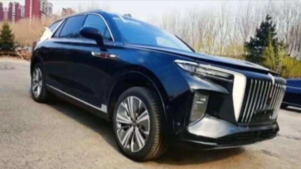 The E115 SUV is part of Honqi's electric push and aims to take on luxury carmakers like Rolls-Royce. (Photo courtesy: Facebook/@carnewschina)