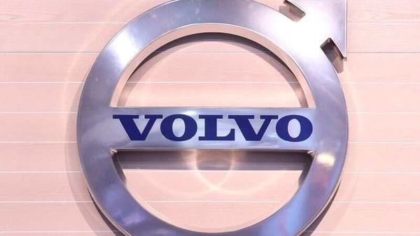 FILE PHOTO: The logo of Swedish truck maker Volvo is pictured at the IAA truck show in Hanover. (REUTERS)