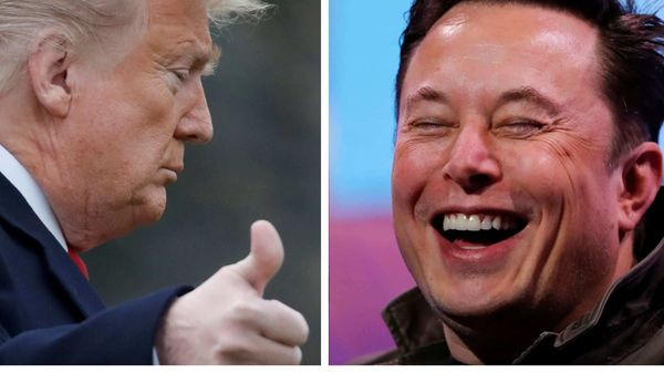 Donald Trump's support on Twitter will come as a shot in the arm for Elon Musk who has been battling California authorities in a bid to get Tesla plant up and running once again.