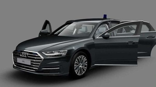 The Audi A8 L Security boasts of high-end protection features. (Photo courtesy: Audi.ru)