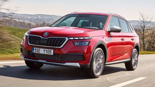 The Skoda Kamiq Scoutline SUV will be unveiled in July 2020