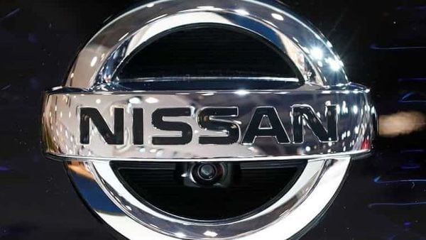 A Nissan logo is pictured at Brussels Motor Show, Belgium, January 9, 2020. REUTERS/Francois Lenoir/File Photo. (Representational Image) (REUTERS)