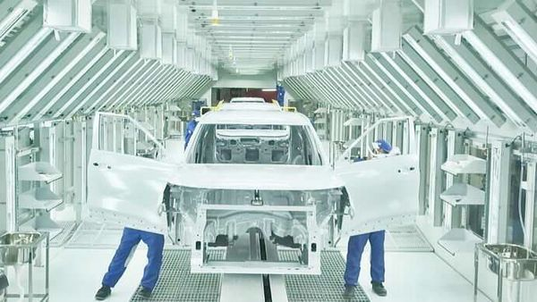 A view of the Kia manufacturing facility in Anantpur. (Photo courtesy: HMG Newsroom)