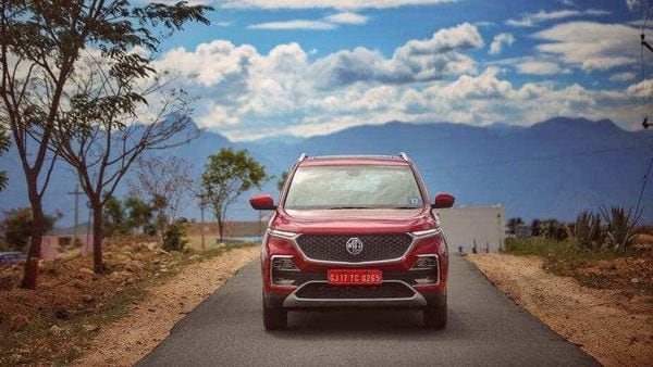 MG currently offers Hector (in pic) and ZS EV in India.