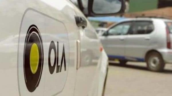 File photo of Ola cab (Representational Image)