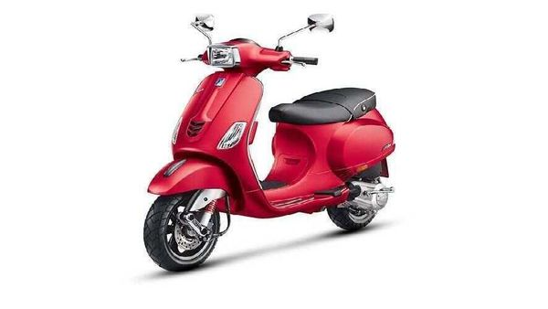 File photo: Vespa SXL 149 BS 6 scooter pictured.