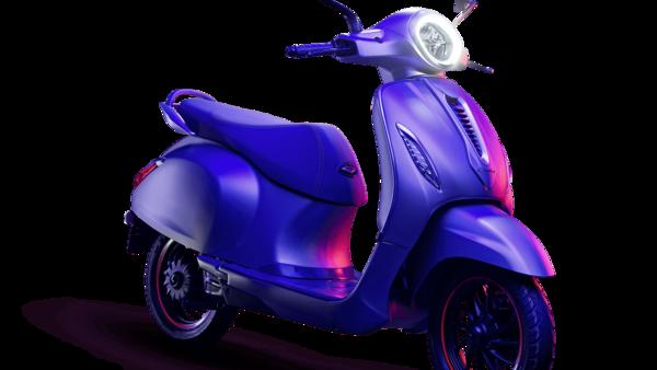 Chetak electric scooter from Bajaj Auto.