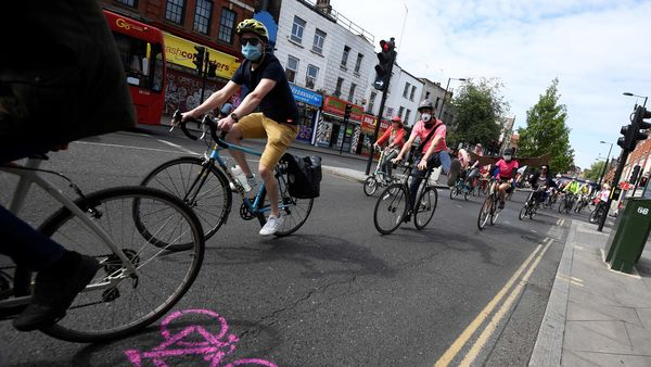File photo: UK government had recently unveiled plans for pop-up bike lanes, wider pavements, safer junctions, and cycle and bus-only corridors to be created within weeks. (REUTERS)